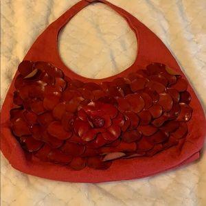 Red Paola Masi purse